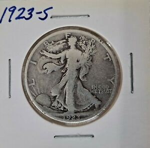 1923 S Walking Liberty Half Dollar 90% Silver