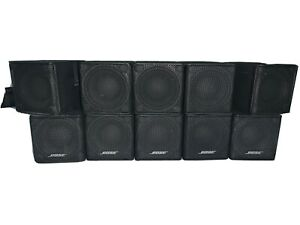 5 x Bose Premium Mini Lifestyle Jewel Cube Speakers