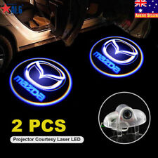 2x Mazda 6 GH LED Door Courtesy Laser Projector Shadow Light Puddle Lamp Logo