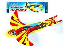 Superhero Hand Glider Planes Retro Loot Bag Fillers Stockings Party Gifts