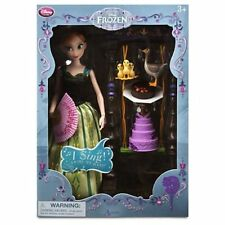 Authentic US Disney Store Princess Anna Deluxe Singing Doll NIB! Frozen