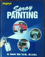 Gregory's Automotive Spray Painting by Donald Wait Hardcover Body Shop TAFE