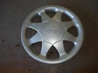 """1997 97 Ford Aspire Hubcap Rim Wheel Cover Hub Cap 13"""" OEM USED 927"""