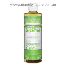 Dr Bronner's Pure Castile Organic Liquid Soap 237ml - 11 Different Varieties