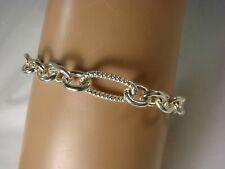 Sterling Silver Link Bracelet 7 inch MAJ20