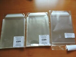 Stampin'Up! Clear Envelopes & more cello bags #103104, clear boxes, retiredbLOOK