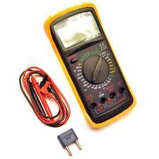 Digital Multímetro Voltímetro Ohm Probador de baterías Amperímetro Lcd Grande TE001