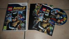 JEU WII - BATMAN 2 DC SUPER HEROES LEGO - PAL NINTENDO - complet en boîte BE