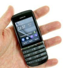 New Nokia Asha 300 Unlocked  3G Touch&Type 5MP Camera Grey Mobile Phone