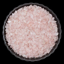50g AAA Natural Pink Rose Quartz Crystal Stone Rock Chips Lucky Healing