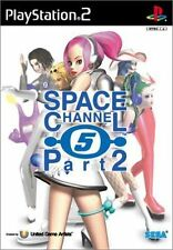 Used PS2 Space Channel 5 Part 2 SEGA SONY PLAYSTATION JAPAN IMPORT