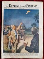 RIVISTA LA DOMENICA DEL CORRIERE N 43 10/1954 BONAFIN BARTALI ASSUNTA GORETTI #4
