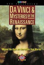 Da Vinci  Mysteries of the Renaissance ~  6-Disc Set ~ VG ~ FREE SHIPPING ~