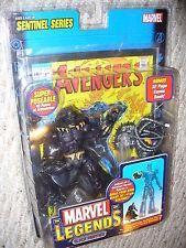 "Marvel Legends 6"" Action Figure, Sentinel Series, Black Panther , dated 2005"