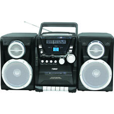 Naxa Npb-426 Portable Cd Player Am/Fm Stereo Radio Cassette Player/Recorder And