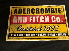 ABERCROMBIE & FITCH A&F: MENS LONG SLEEVE T-SHIRT SIZE L