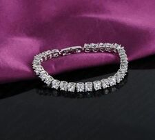Cubic Zirconia Tennis Costume Bracelets