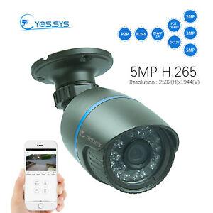 Eyes.sys H.265 1080P IP 24IR 2MP/3MP/5MP CCTV HD Camera  BLUE IRIS RTSP NVR
