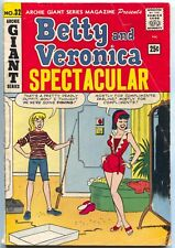 Archie Giant Series 32 1965 VG Betty Veronica Pin-Up Gallery Fishing Bikini