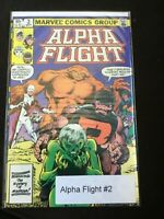 ALPHA FLIGHT MARVEL COMIC BOOK VOL. 1 NO. 2  SEPTEMBER 1983