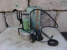 THOMAS and BETTS HYDRAULIC ELECTRIC PUMP 120V WORKS FINE