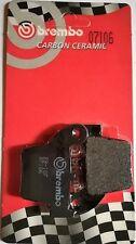 Pastiglie freno posteriore Brembo 07106CC carbon ceramica (1 coppia per 1 disco)