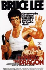 Way of the Dragon - Bruce Lee - A4 Laminated Mini Movie Poster