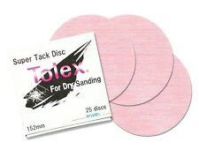 """Eagle Abrasives 1931503 6"""" Super Tack Tolex Discs"""