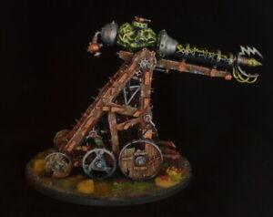 Warhammer - Clan Pestilens / Skaven - Warp Lightning Cannon, well painted