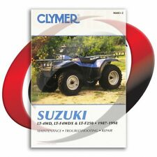 1991-1998 Suzuki LT-F4WDX King Quad Repair Manual Clymer M483-2 Service Shop