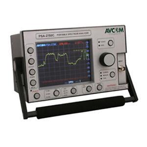 Avcom PSA-2500C1FLE Portable Spectrum Analyzer, Single, F, LNB, ENET