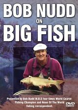 BOB NUDD ON BIG FISH -  MINT FISHING DVD - FREE POST IN UK