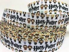 By The Yard Harry Potter Characters Printed One Sided Grosgrain Ribbon.... Lisa