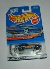 1998 HOT WHEELS RACE TEAM SERIES IV 4/4 - '63 CORVETTE METAL FLAKE BLUE