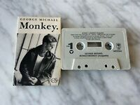 George Michael Monkey CASSETTE Tape Single 1988 CBS 38T 07941 Wham! RARE! OOP!