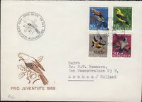 "SUISSE / SWITZERLAND / SCHWEIZ 1969 Mi.914/7 ""Pro Juventute"" set on FDC (Bern)"