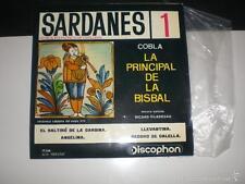 EP COBLA LA PRINCIPAL DE LA BISBAL - SARDANES 1 - DISCOPHON 1961 VG+