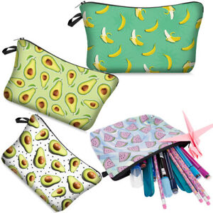 Printing Pattern Makeup Pouch Makeup Bag Travel Toiletry Bag Cosmetic Bag