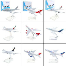 A380 B747 Plane Model Aircraft Diecast Airplane Aeroplane 1:400 Scale Desk Toy