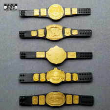 WWE Mattel Wrestling Figure Belt Lot Heavyweight Eagle World Intercontinental
