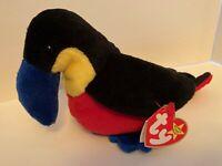 Beanie Babies - Colorful Kiwi Bird   * 1st Hand make *