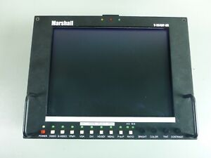 Marshall V-R84DP-HD, TFT MegaPixel 8.4-Inch Field Monitor with Multiformat Input