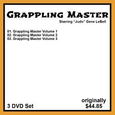 Gene Lebell's Grappling Master Pro Wrestling Finishing Holds Series (3 DVD Set)
