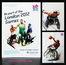 "LONDON 2012 PARALYMPIC GAMES ""BE PART OF THE LONDON 2012 GAMES"" GUIDE LEAFLET"