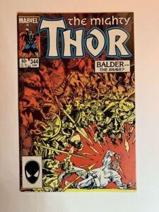 Marvel 1984 Thor #344 1st Appearance of Melekith Unread NM