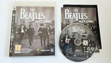The Beatles Rockband: Playstation 3 PS3 disco de juego (casi Nuevo)