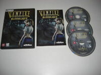VAMPIRE THE MASQUERADE BLOODLINES Pc Cd Rom BLOOD LINES - FAST POST