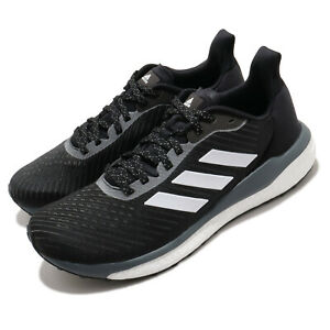 adidas Solar Drive 19 M BOOST Black White Grey Men Running Shoes Sneakers EH2607