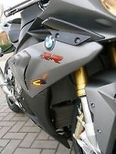 BMW PAIR OF SMOKED LED INDICATORS S1000RR 1000 S1000 RR  S1000XR XR 'E' MARKED