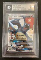 Shiny Charizard GX SV49/SV94 Beckett 9 Mint - Hidden Fates - Pokemon Card
